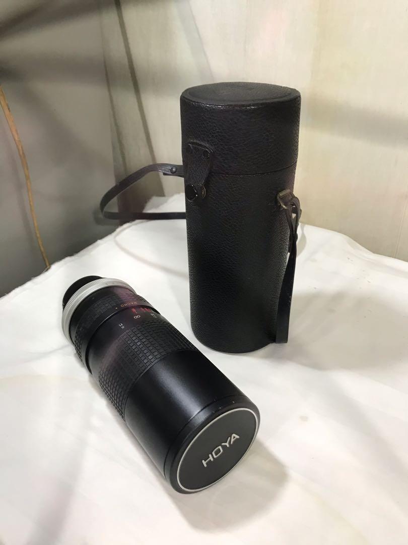 vintage Hoya HMC Zoom and Macro 100-300mm 1:5  62 camera lens