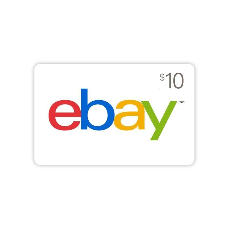 $10 Ebay Gift Card | Email and SMS Delivery