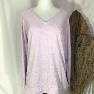 #1212special lilac tunic / knit top