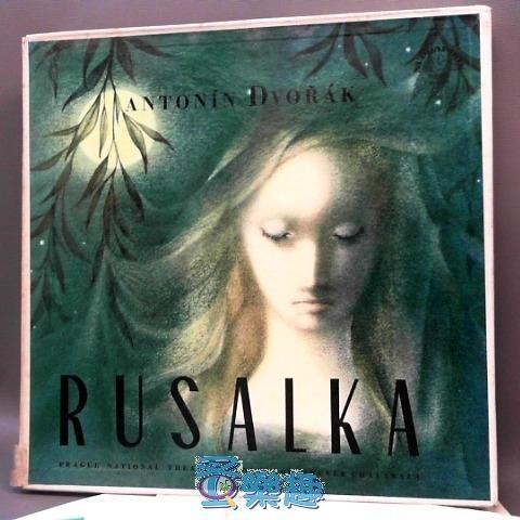 紙盒4LP/ANTONIN DVORAK RUSALKA露莎卡黑膠唱片/1963