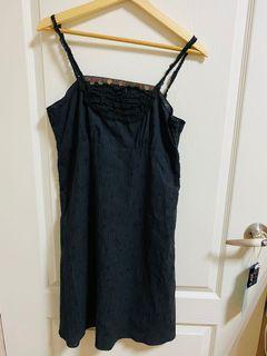 無袖背心黑洋裝