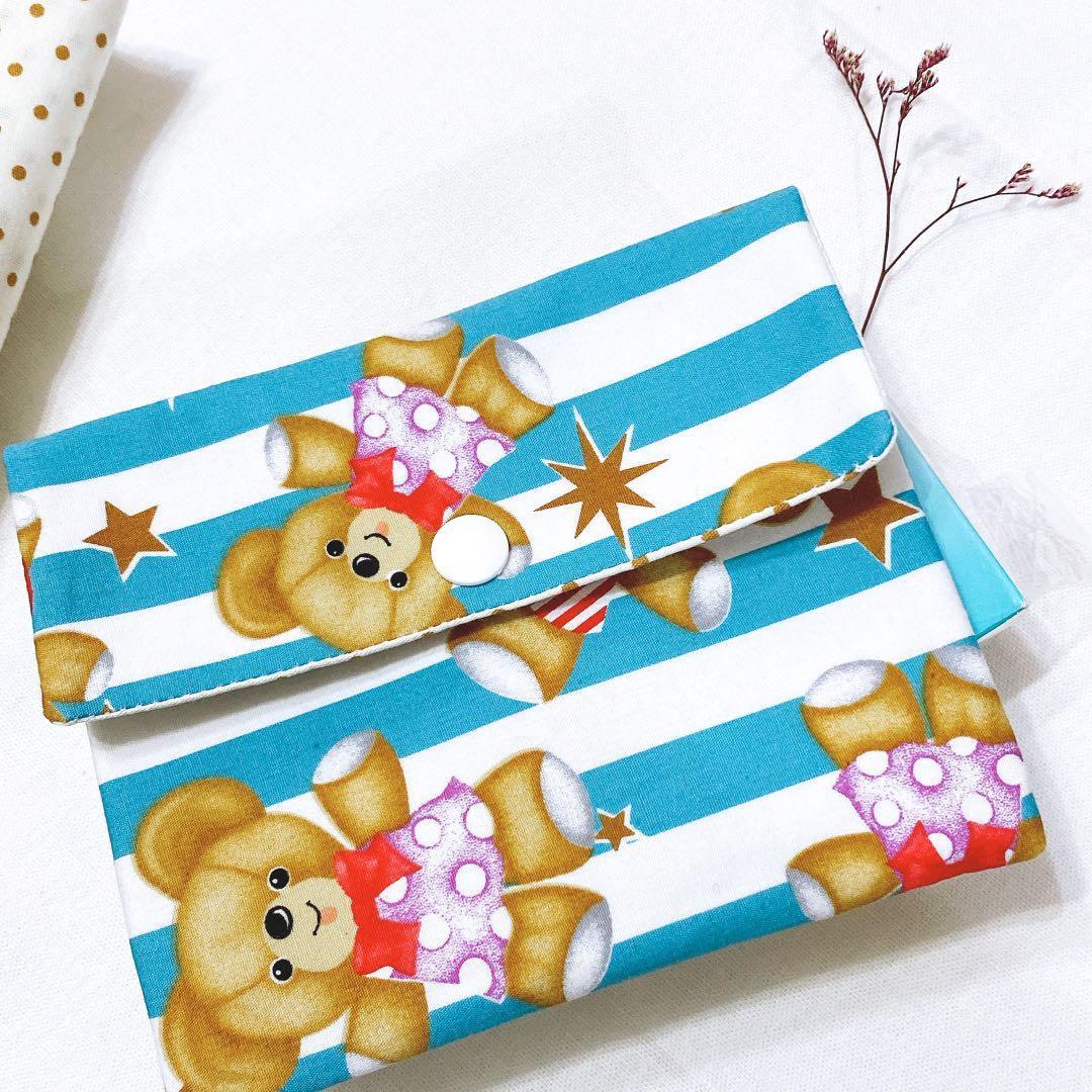 手工製作🥰 熊熊 收納包 萬用包 棉棉包 零錢包 交換禮物 婚禮小物