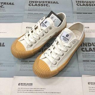 韓國代購 Excelsior 餅乾鞋 焦糖底餅乾鞋 帆布鞋(24號 全新 正品 24小時內寄出)