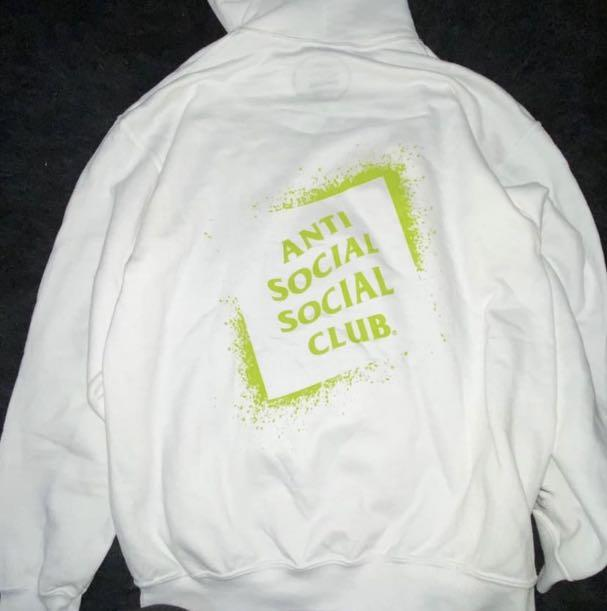 Authentic Anti Social Social Club with Tags