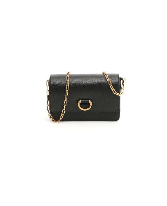Authentic Burberry Hayes D-Ring Mini Bag