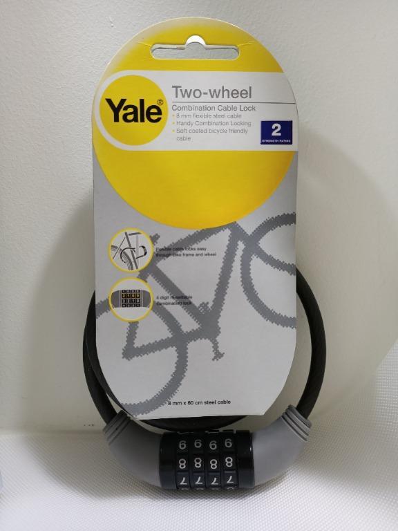 Cable LOCK 60cm Black Bike Lock Bicycle Lock NEW