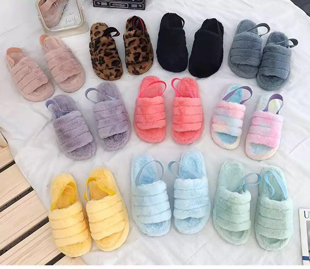 Comfy slippers size 38 only 🥿 78bags