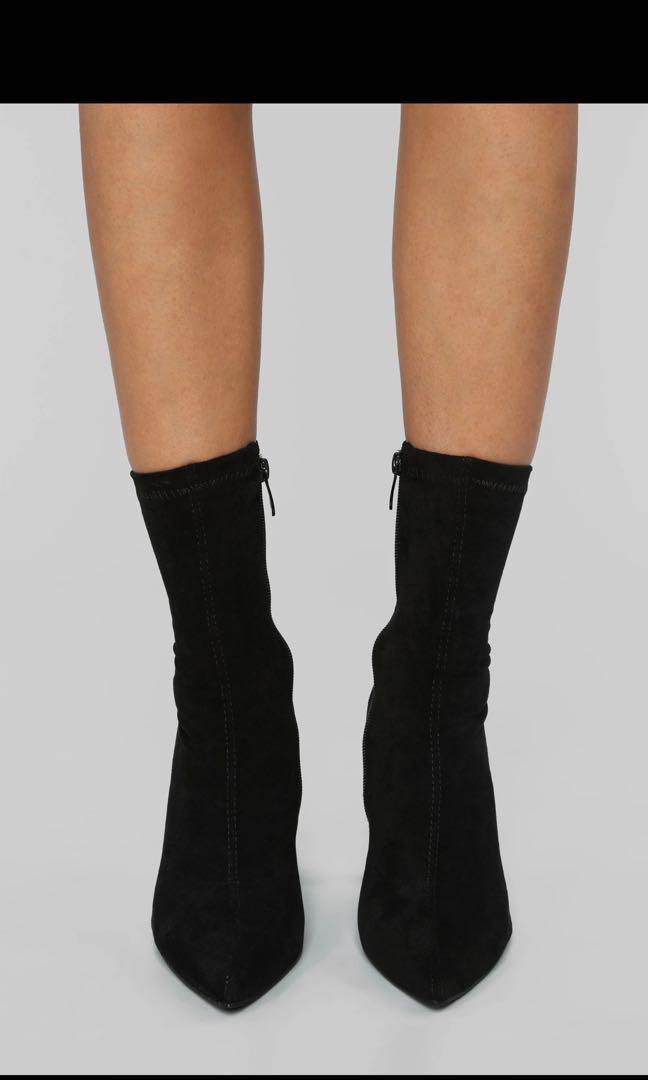 Fashion Nova boots You Do You Bootie