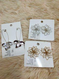 H&m flower earrings