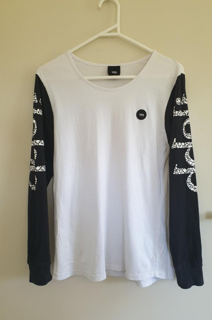 Ilabb white & black top