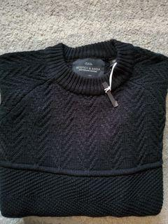 Men's Scotch and Soda Cable Knit Sweater