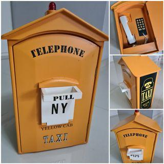 NYC 🚕 Taxi Cab Wall Mount Phone
