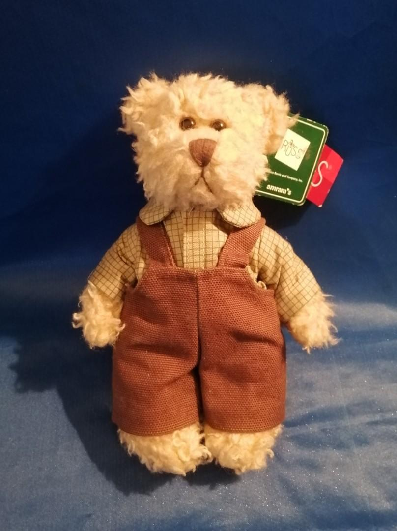 """Russ - """"Bears From The Past"""" Retired/Rare"""