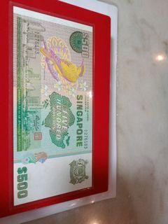 Singapore Bird  $500