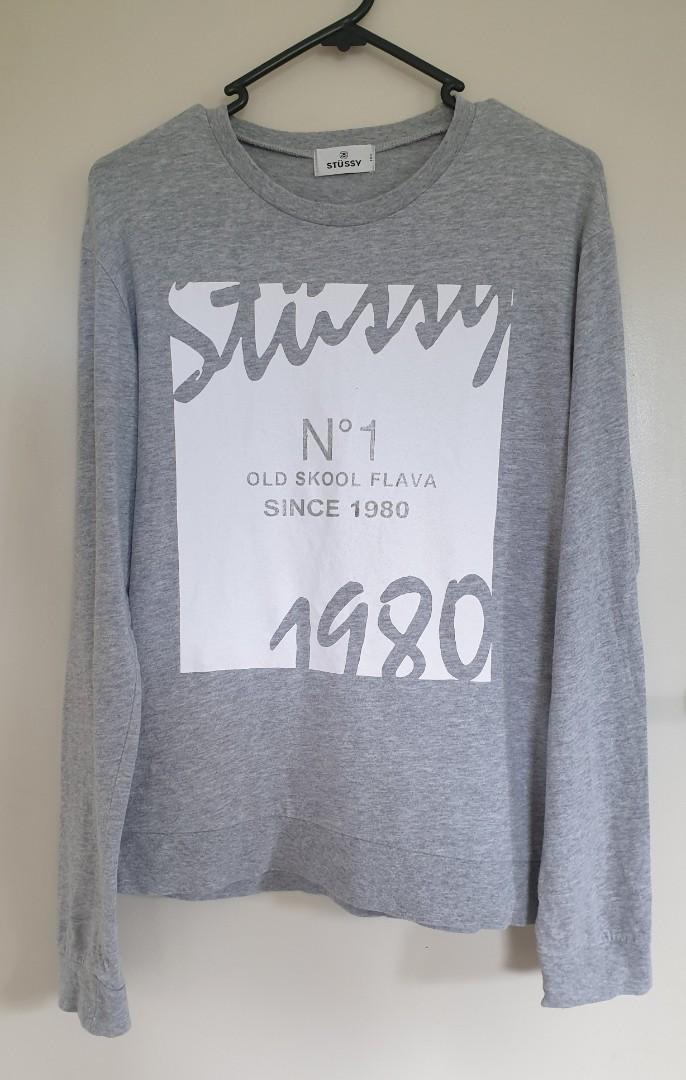 Stussy grey top