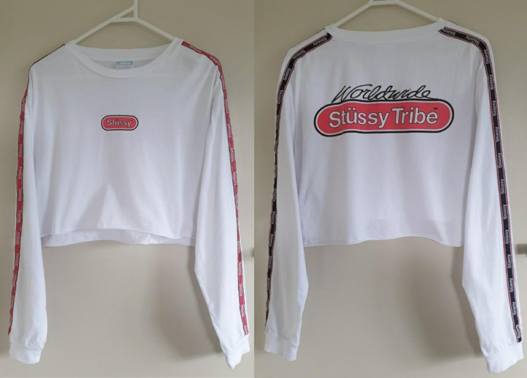 Stussy white top