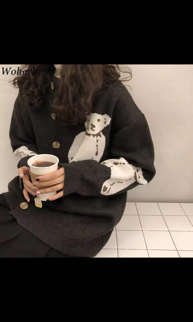 Vintage Bear cardigan