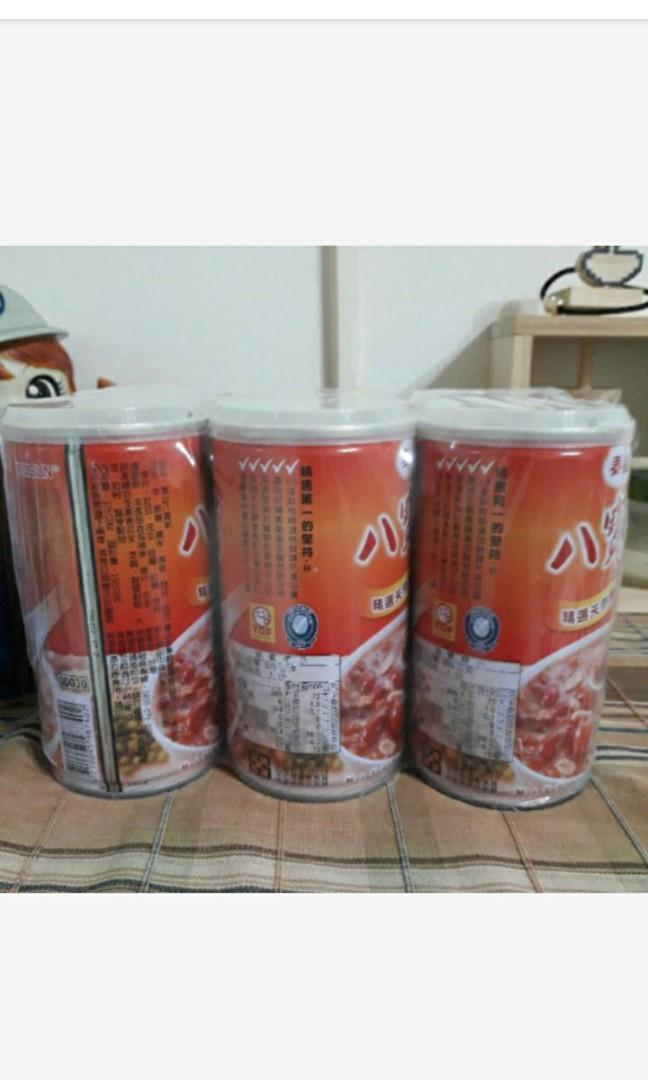 375g*6罐泰山八寶粥 2022.9