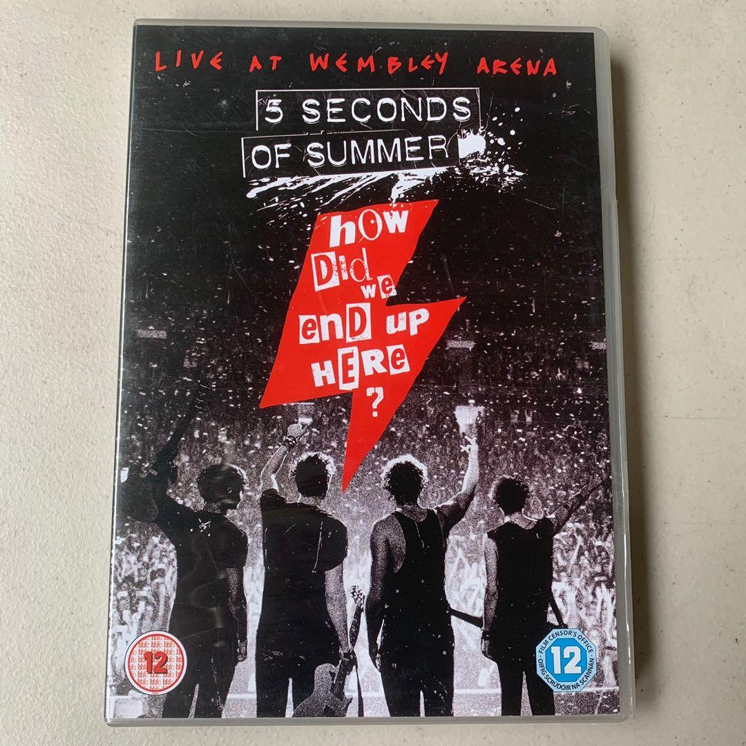 5sos How Did We End Up Here Dvd Hobbies Toys Music Media Music Accessories On Carousell