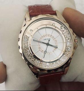 名牌鑲鑽手錶(非常漂亮)
