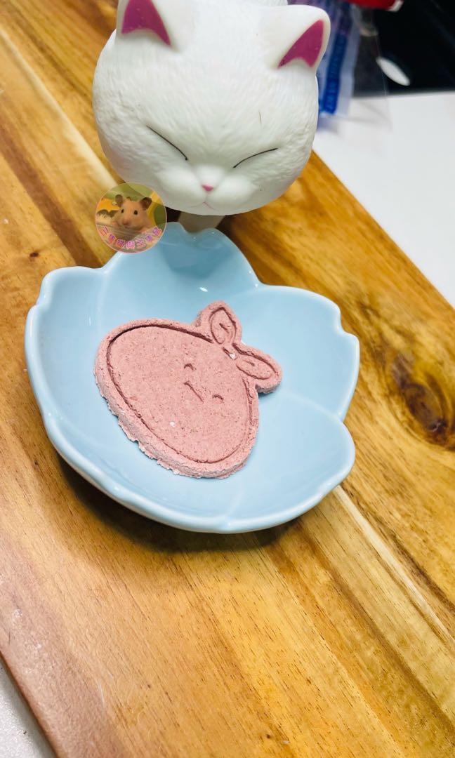 🎀自製🎀手工磨牙餅🍪草莓