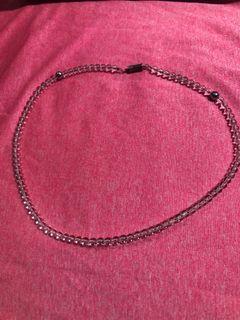 Phiten 銀谷 水晶 項鍊