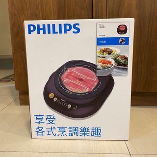 飛利浦 Philips 不挑鍋黑晶爐 HD4998