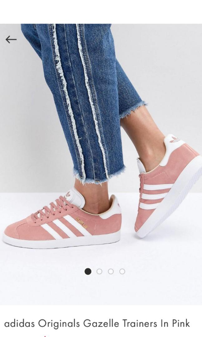 Adidas originals gazelle trainers in pink, Women's Fashion, Shoes ...