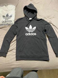adidas三葉草帽T 黑白一起賣