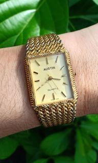 "Austin ""Tank"" Rectangle Quartz Watch"