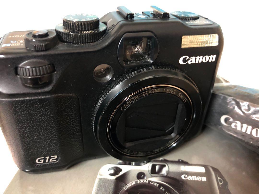 Camera Canon model G12 Power Shot