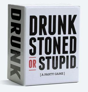 Drunk Stoned or Stupid [A Party Game] Card Game