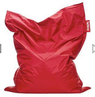 FATBOY Beanbag Chair -Red