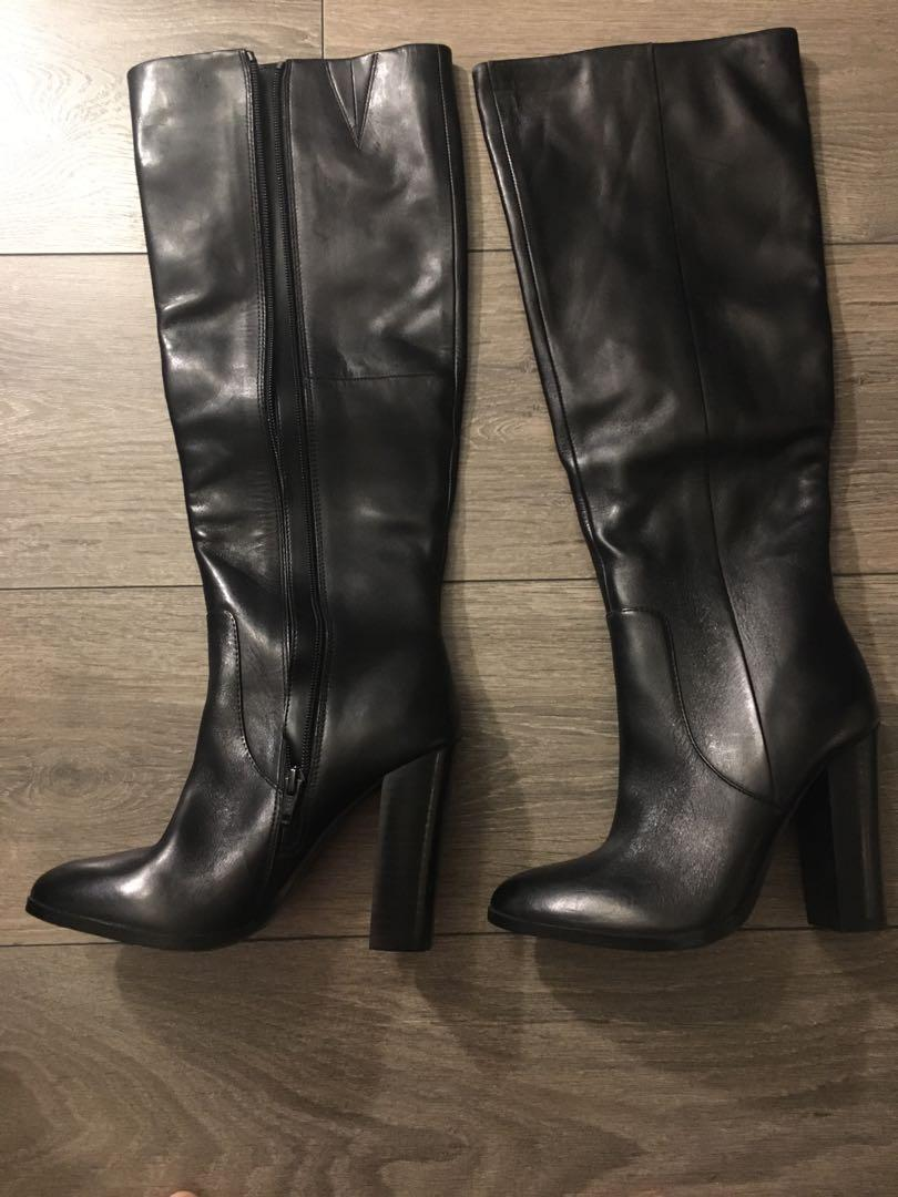 Knee high boots - size 6