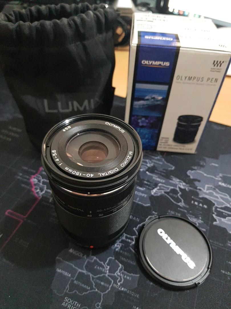 Lensa Olympus 40-150mm OM-D F4-5,6 Lens Olympus Pen