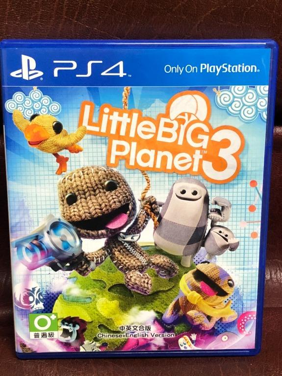 LITTLEBIG PLANET III ENGLISH 小小大星球3 中英文合版 PS4 遊戲 二手