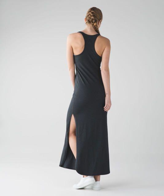 Lululemon Refresh Maxi Dress Burgundy