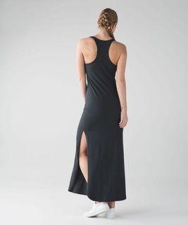 Lululemon Refresh Maxi Dress Burgundy
