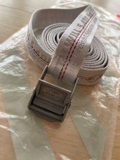 Off-White mini industrial belt white