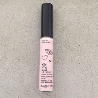 The Body Shop Shine Lip Liquid Sugar Glaze