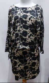 Zara basic dress motif