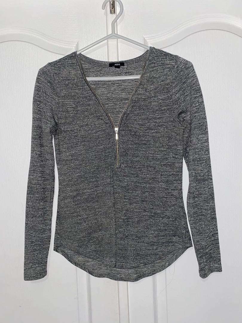 Zip up long sleeve