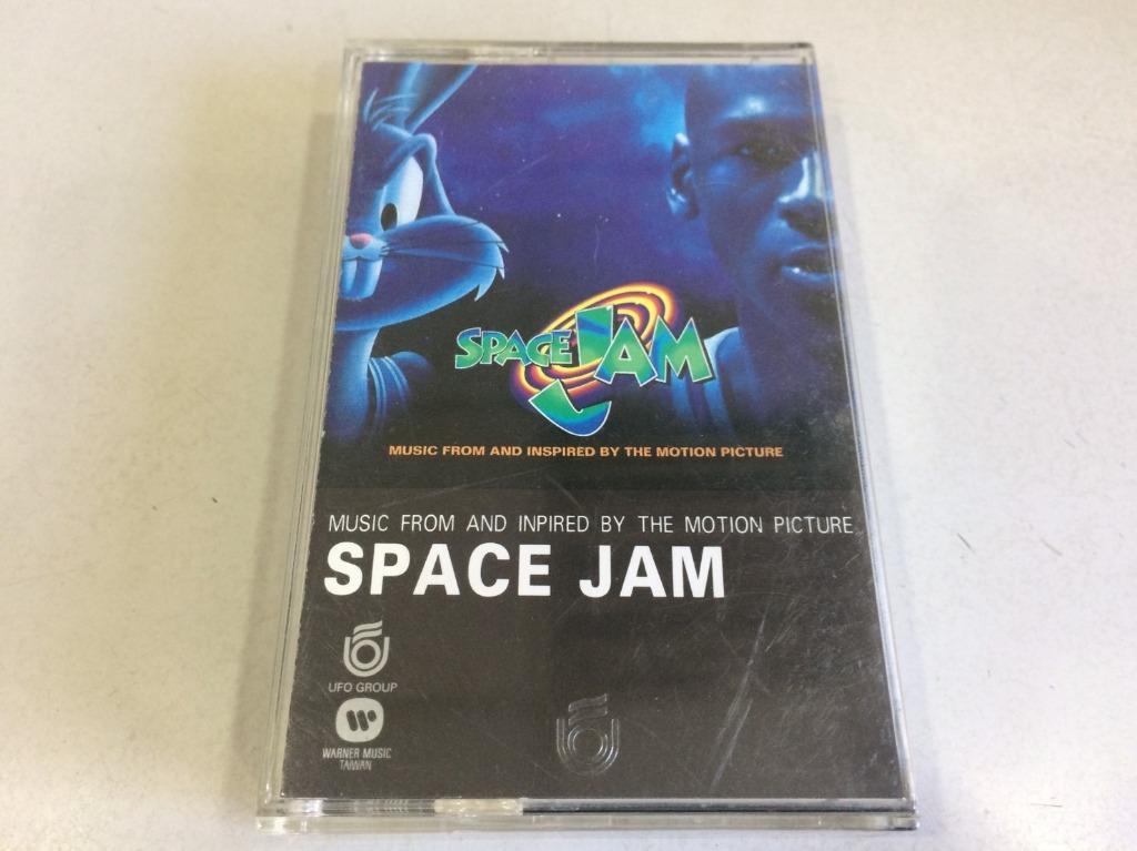 「環大回收」♻二手 卡式錄音帶 早期 絕版 限量【怪物奇兵 電影原聲帶 SPACE JAM 麥可喬丹】原版卡帶 正版磁帶