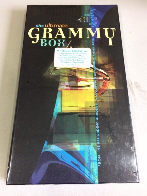 「環大回收」♻二手 CD 早期 絕版【The Ultimate Grammy Box 合輯】正版 音樂專輯 光碟唱片