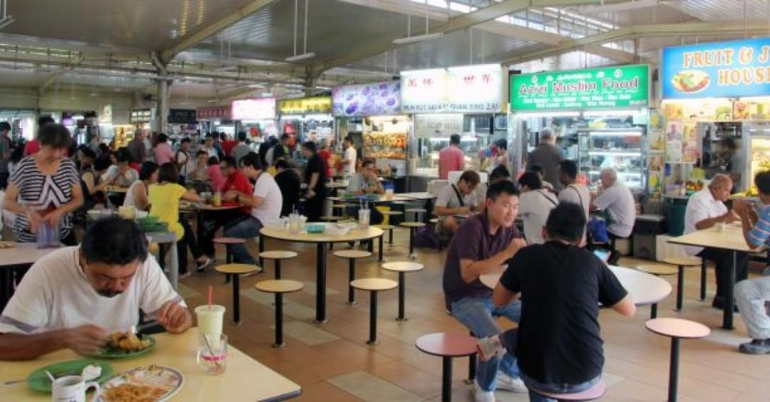 素食小贩摊位厨房助手  Hawker Kitchen Assistant at Geylang Bahru