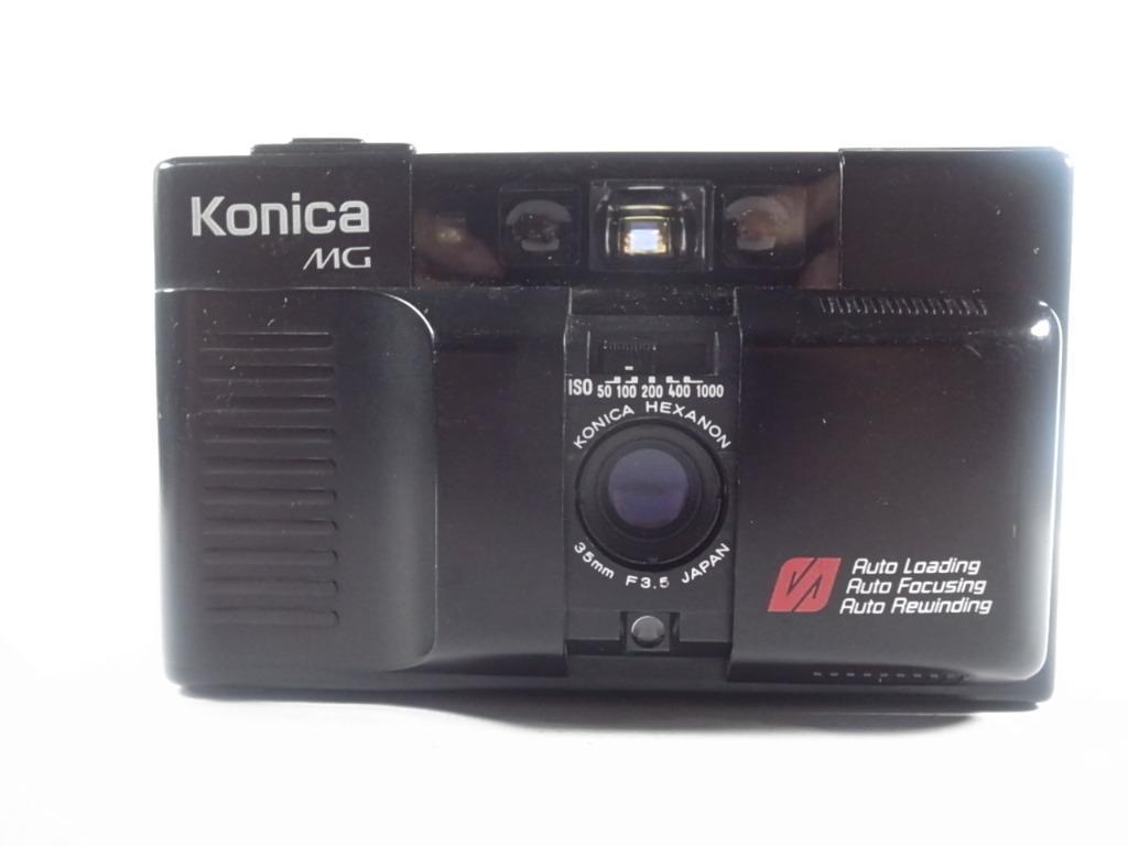 [一直攝] Konica MG底片相機