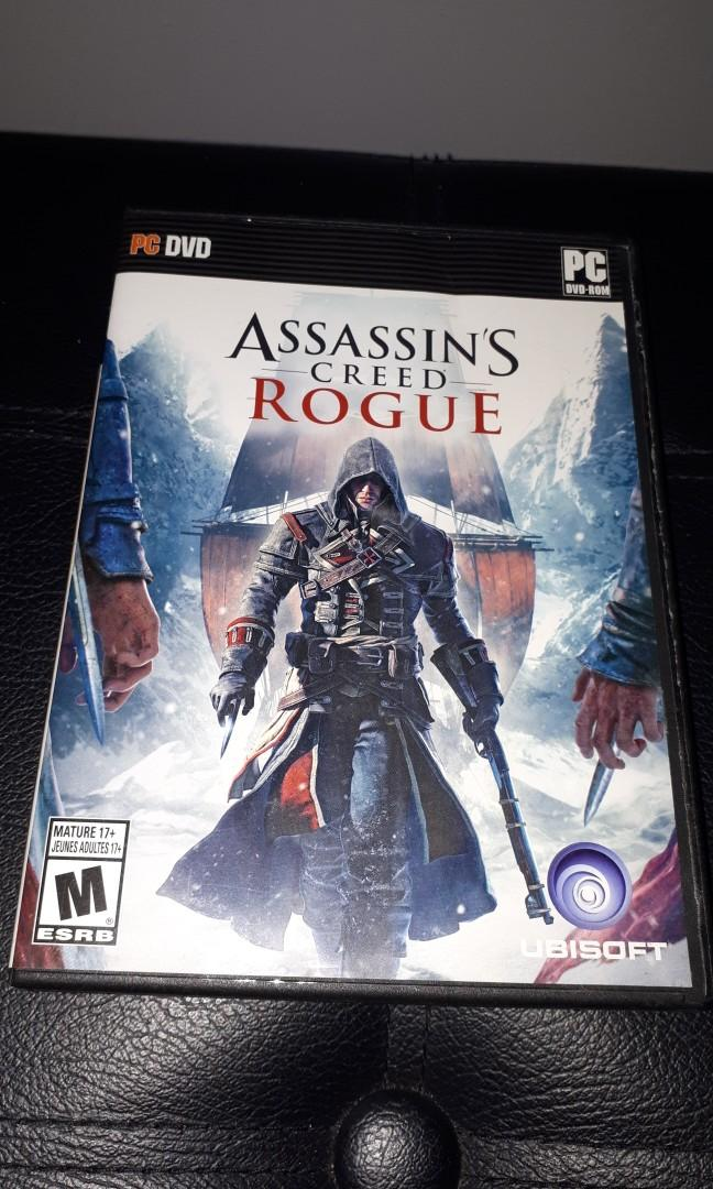 Assassins Creed Rogue Game for PC