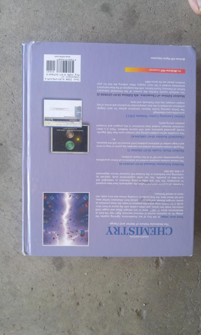 Chemistry Silberberg 4th Edition Hardcover Brand new