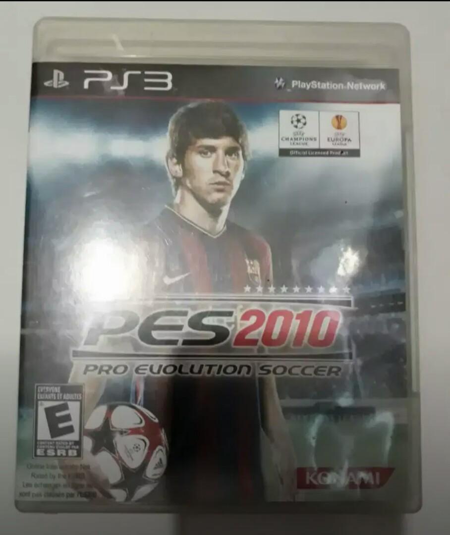 Disc Game PS3 PES 2010 Original