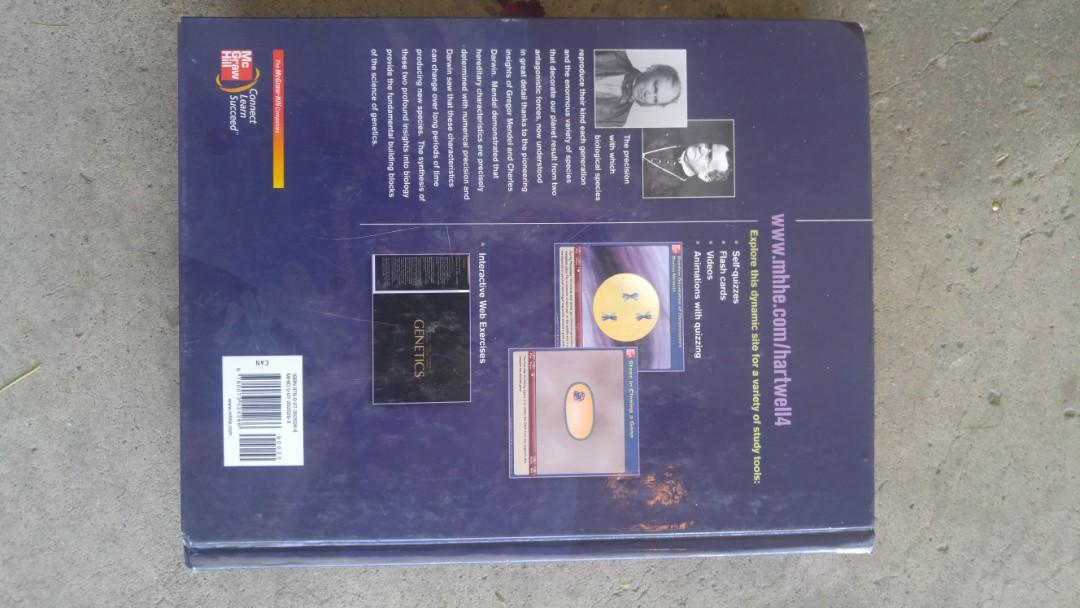 Genetics 4th edition Hardcover textbook and solutions guide